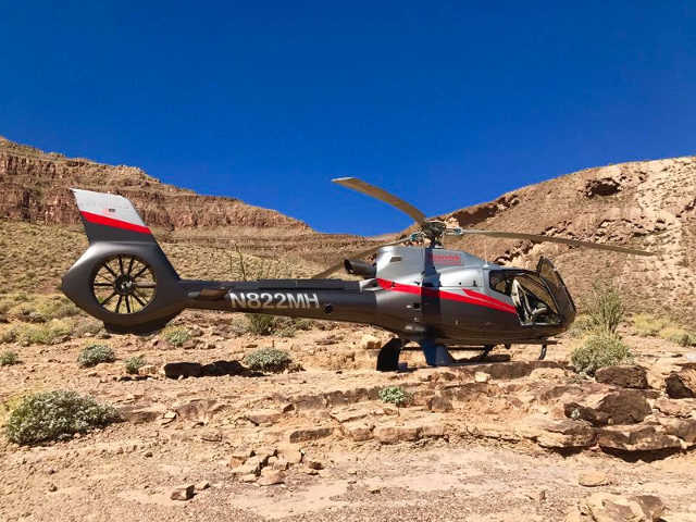 Grand Canyon Helicóptero